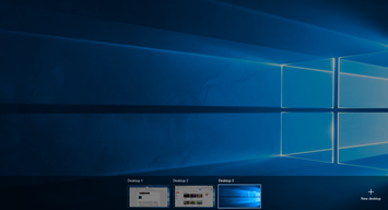 new virtual desktop
